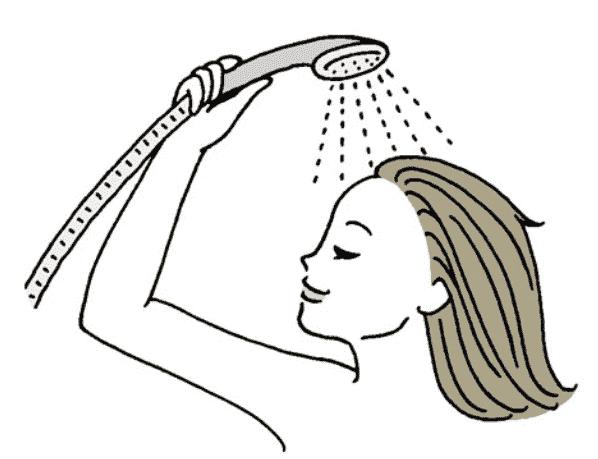 正しい洗い方